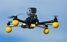 GoPro meets Drone to create stellar Photo and Video.
