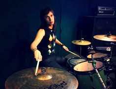 Drummer of Perfect Wig
