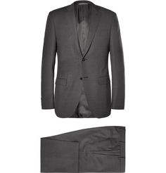 Canali Grey Slim-Fit Wool Suit | MR PORTER