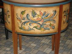 There are many styles of Norwegian Rosemaling. Description from rosmarley.homestead.com. I searched for this on bing.com/images
