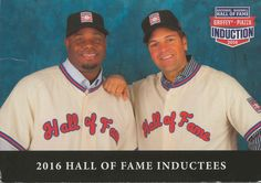1a96d219ba Postcard from the USA ~ 2016 National Baseball Hall of Fame Inductees ~  Baeball's greatest team