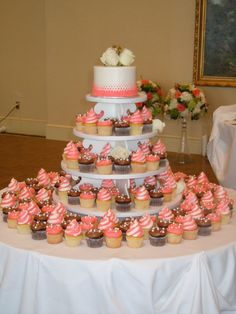 Bethel Bakery Wedding Cupcake Display