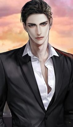 Dark Anime Guys, Cool Anime Guys, Girls Anime, Hot Anime Boy, Handsome Anime Guys, Anime Art Girl, Manga Anime, Fanarts Anime, Manga Art