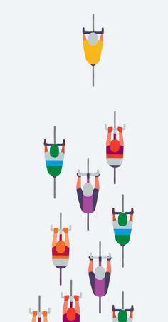 London Tour De France poster