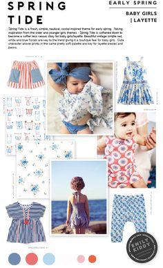 Spring | Summer 2017 - Spring Tide - Baby Girls | Layette