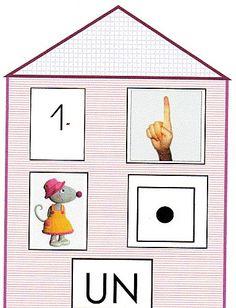 Maisons des nombres à construire avec cartes associées