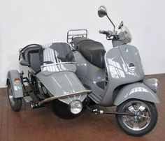 Vespa GT60 with Sidecar