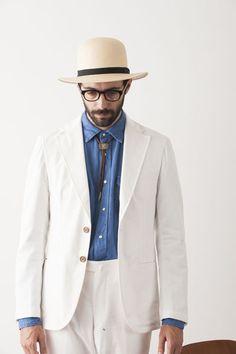 TOKYOメンズブランド特集|FUJITO  「フジト」2015年春夏コレクション  アーミッシュの人びとの着こなしをフジト流に解釈した最新コレクション