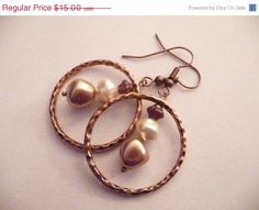 ON SALE The Alicia Earrings by Eleganceforyou on Etsy, $12.00