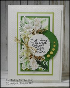 Green Mat, One Sheet Wonder, Dandelion Wish, Specialty Paper, Some Cards, Create Image, Flower Cards, Flourish, Stampin Up Cards
