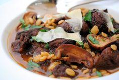 Roasted Beef (Bison), Mushroom and Barley Soup