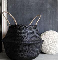 diy customiser les paniers osier le blog de mes loisirs osier et rotin pinterest. Black Bedroom Furniture Sets. Home Design Ideas