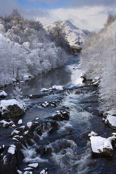 Driving to Glencoe, Scotland