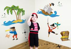 pirates_nursery_set_wall_decal_h.jpg 680×472 pixels