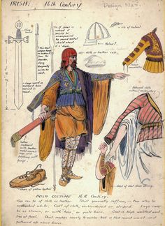 Seamus MacCalls costume design for the Irish in the sixteenth century Celtic Clothing, Irish Clothing, Chara, Renaissance, Irish Warrior, Celtic Warriors, Conquistador, Historical Art, Celtic Art