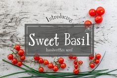 Sweet Basil by Blissberry Design on @creativemarket