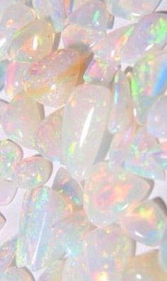 My birthstone (opal) ~ Saarah Crystals Minerals, Rocks And Minerals, Crystals And Gemstones, Stones And Crystals, Gem Stones, Image Deco, Yennefer Of Vengerberg, Rocks And Gems, Pretty Pastel