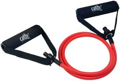 OUR EASIEST RESISTANCE TUBE: The Cathe red light-tension resistance tube has the least amount of tension of any of our Cathe resistance tubes. #cathe #cathefriedrich #resistancetubeswithhandlesforsale #resistancetubes #resistancetubeswithhandles #bestresistancetubeswithhandles #resistancebands #resistancetubeswithfoamhandles #exercisetubeswithhandles #resistancebandtubewithhandles #resistancetubeswithhandlesforwomen #resistancetubesforexercise #redresistancetube #lighttension Resistance Tube, Resistance Workout, Cathe Friedrich, Exercise Tubing, Outer Thighs, Sports Training, Natural Latex, Upper Body, No Equipment Workout