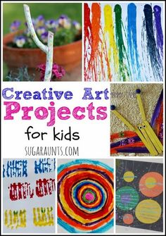 Creative art project ideas for KIDS.