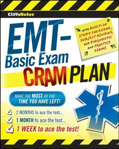 12 best kindle ebooks allied health professions images on cliffsnotes emt basic exam cram plan cliffsnotes cram plan by inc northeast fandeluxe Images