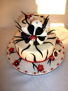 Non Traditional Zebra Print Planet Cake's Chocolate Mud Cake - a great recipe, filling vanilla IMBC. Pretty Cakes, Beautiful Cakes, Amazing Cakes, Cake Art, Art Cakes, Planet Cake, Chocolate Mud Cake, Unique Cakes, Cupcake Cakes