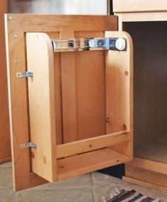 Rv cabinet storage door with paper towel holder and shelf rv rv cabinet door storage design eventshaper