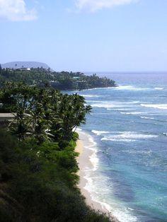 South coast of Oahu, Honolulu, Hawaii