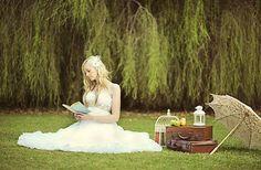 New Autumn Picnic Wedding Inspiration Bridal Gown Ethereal Bridal Photos Bridal Portrait Poses, Portrait Ideas, Bridal Photoshoot, Bridal Shoot, Photoshoot Ideas, Wedding Pics, Wedding Ideas, Wedding Fun, Green Wedding