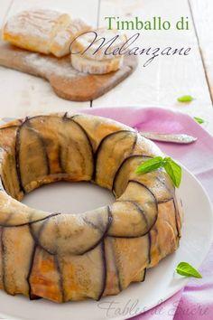 Timballo di melanzane ricetta