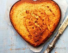 Sunn og glutenfri mandelkake med sitron og valmuefrø - Tara
