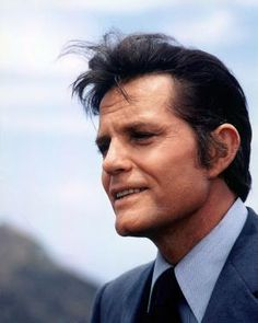 """Hawaii Five-0"" Star Jack Lord Sure Loved Hawaii: Headshot of Jack Lord (1920-1998)"