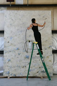 Betsy Eby - Amazing size, I can not imagine working on something so big!