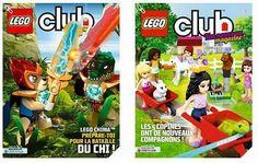 Inscrivez gratuitement au magazine Lego afin de le recevoir à votre domicile.
