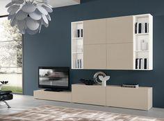 Contemporary Italian Wall Unit VV 3946 - $2,635.00
