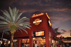 Harley Davidson Store Down Town Disney Orlando