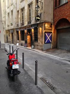 The Highlander Scottish Pub In Paris  thrifty chic LA | life + travel + style: A Walk Through Paris...