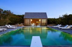 Discover 32 pool house ideas for your inspiration. Browse photos of traditional and modern pool house designs. A collection of houses with swimming pools.