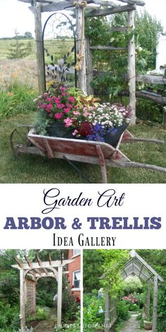 533 best GARDEN Trellis & Structures ✿ images on Pinterest in 2018 ...