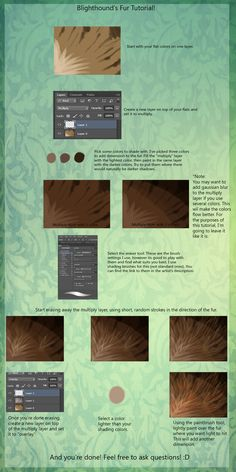 Fur Tutorial! by GoatRot.deviantart.com on @deviantART ✤    CHARACTER DESIGN REFERENCES   解剖 •  علم التشريح • анатомия • 解剖学 • anatómia • एनाटॉमी • ανατομία • 해부 • Find more at https://www.facebook.com/CharacterDesignReferences & http://www.pinterest.com/characterdesigh if you're looking for: #anatomy #anatomie #anatomia #anatomía #anatomya #anatomija #anatoomia #anatomi #anatomija #animal #creature    ✤