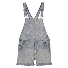 Cheap Monday Cut Bib Dungarees ($26) ❤ liked on Polyvore featuring jumpsuits, cheap monday and light blue jumpsuit