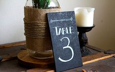 Items similar to Set of 10 -Chalkboard Table Numbers - Wedding Table Numbers - Cottage Chic Table Numbers - Chalkboard Paint Wedding Numbers on Etsy Chalkboard Table Numbers, Diy Chalkboard Paint, Chalkboard Drawings, Chalkboard Lettering, Chalkboard Signs, Painted Globe, Wall Mounted Bottle Opener, Diy Wedding, Wedding Ideas