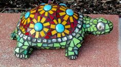 Polly the Mosaic Turtle | Mosaic | Pinterest