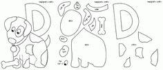 Printable Felt Animal Patterns - Bing Images