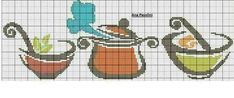 Cross Stitching, Cross Stitch Embroidery, Embroidery Patterns, Cross Stitch Patterns, Cross Stitch Kitchen, Needlepoint Designs, Cross Designs, Cross Stitch Flowers, Diy And Crafts