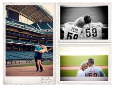 Stephanie + Josh.  Shot at Minute Maid park in Houston, Texas.  Christine Meeker Studios is available for travel for wedding photography.  281-565-4285