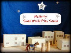 Sun Hats & Wellie Boots: Nativity Small World Play Scene: Bethlehem