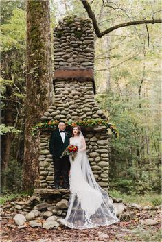 8a6c34e2516d Elkmont elopement in the Great Smoky Mountains National Park in Gatlinburg,  Tennessee, near Spence Cabin. A national park wedding in the forest.