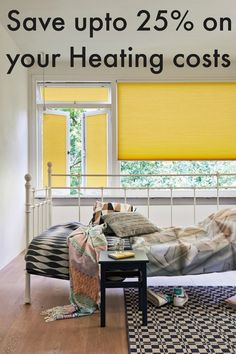 Did you know you can save up to 25% on your utilities and heating costs with this one simple home decor tip?  This is seriously worth remembering for the next time you decorate your home.