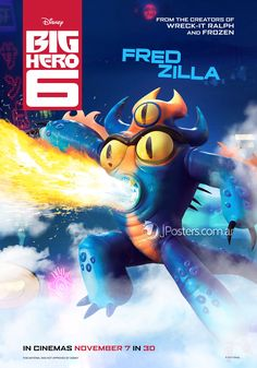 Fred Zilla- Big Hero 6