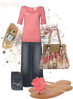 """Spring!"" by tabitha-patterson on Polyvore"
